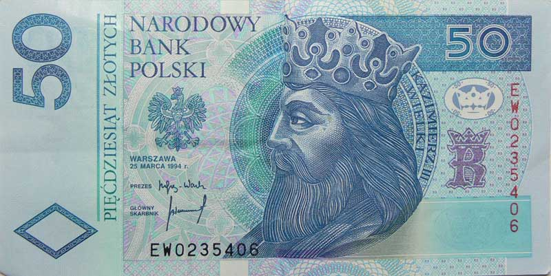 Zloty Scheine