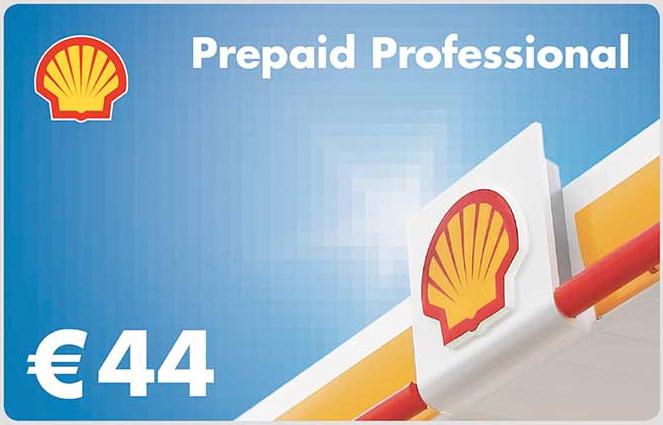 Shell-Prepaid-Card