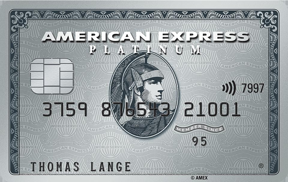 American Express Platinum Aktion – Angebot mit 10 Bonus Points