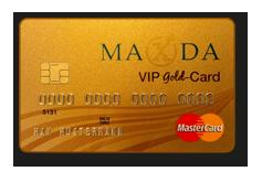 Maxda VIP MasterCard Gold